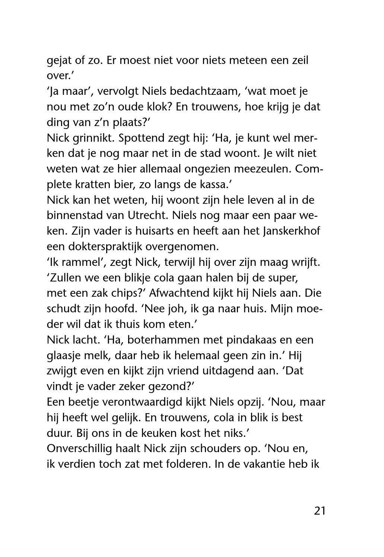Race tegen de klok by erdee media groep page 11 issuu - Huisarts klok ...