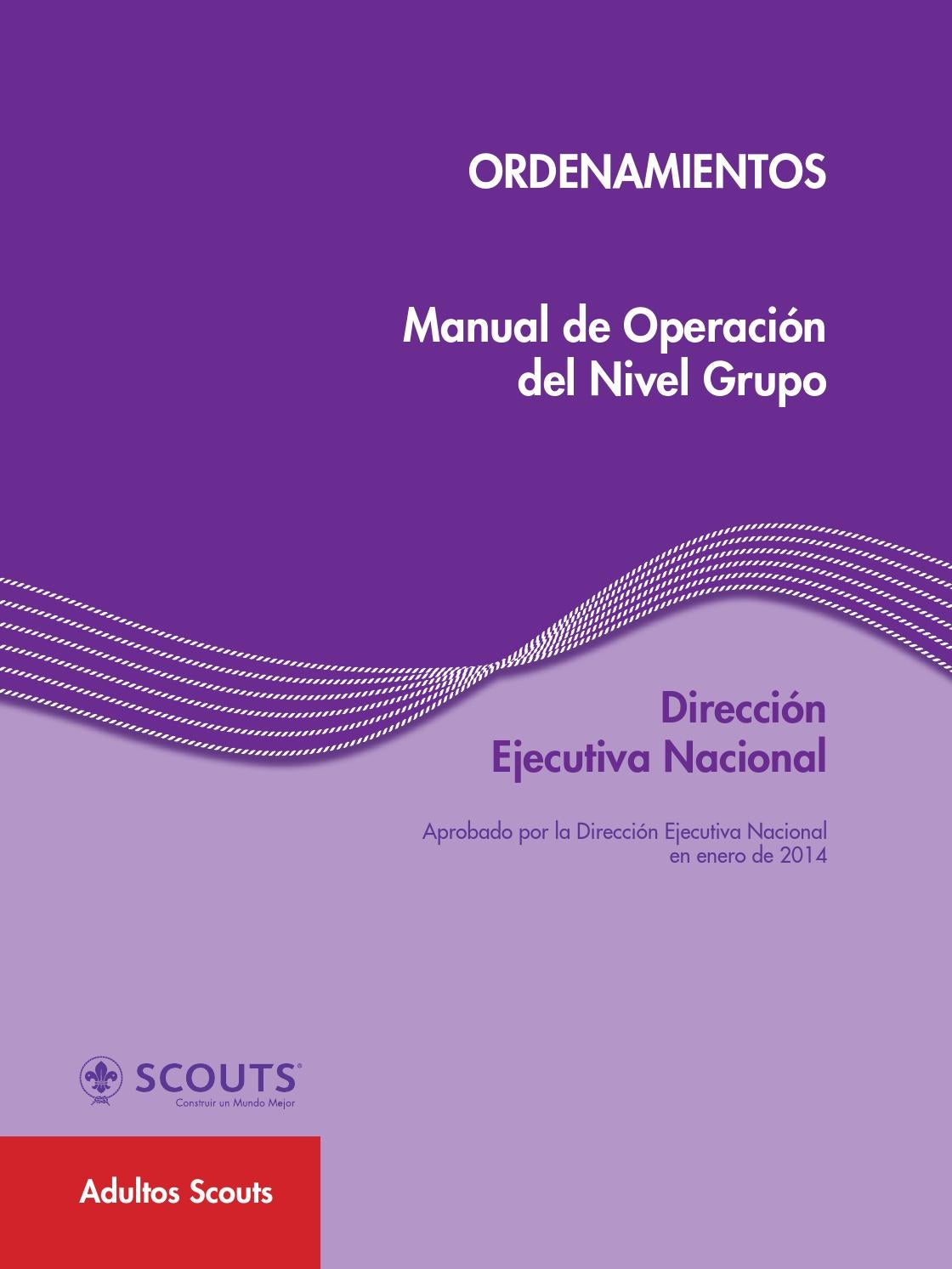 Manual de operacion del nivel grupo by scouts de m xico for Manual de acuicultura pdf