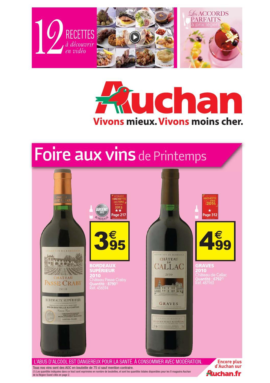 Catalogue auchan du 15 au 31 mars by anti issuu - La croix blanche magasin ...