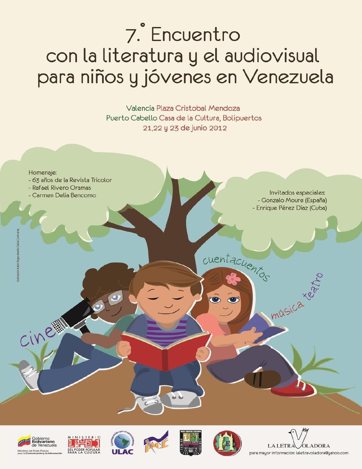 7mo Encuentro con la Literatura y el Audiovisual Para Niños y
