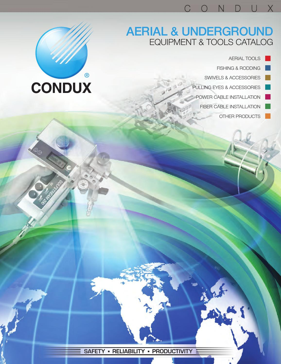 Condux 2013 Amp 2014 Usa Catalog By Condux International