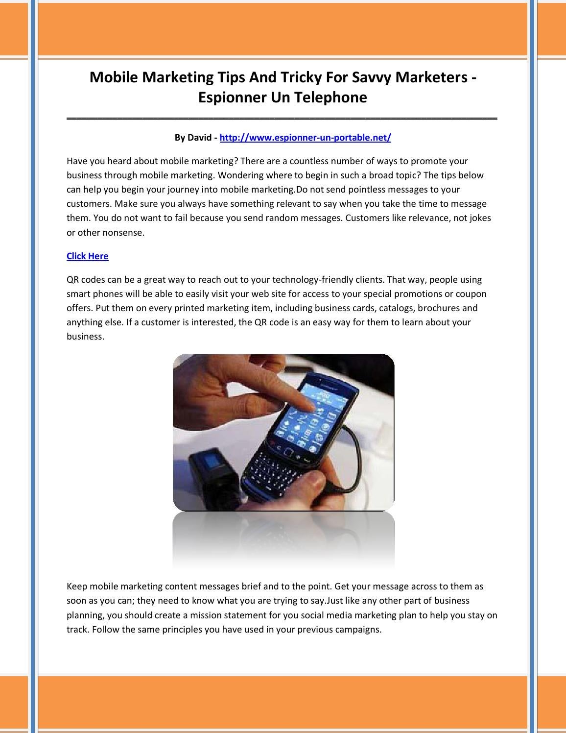Espionner un telephone by sghifduh issuu - Espionner un portable a distance ...