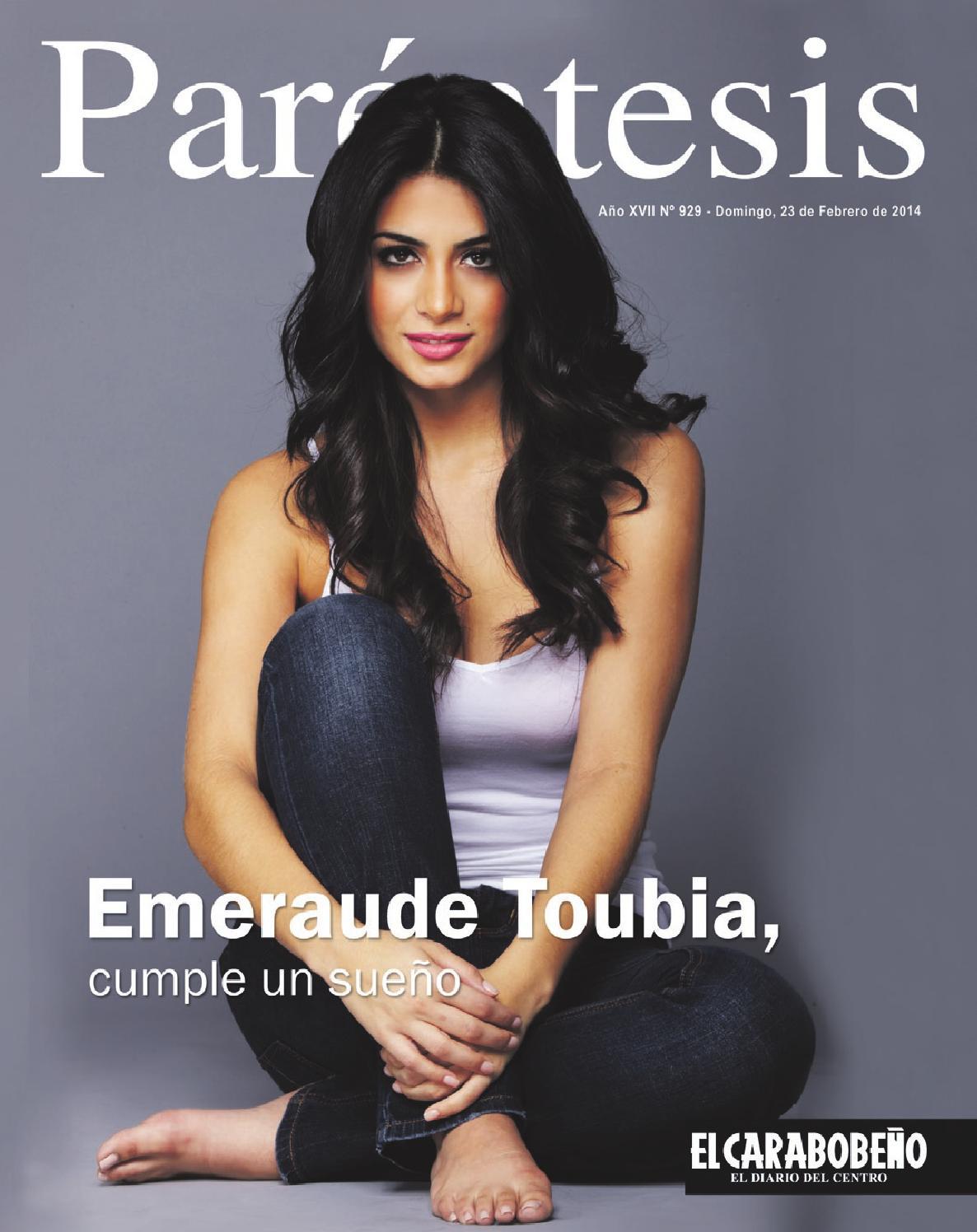 emeraude toub237a cumple un sue241o by revista par233ntesis issuu
