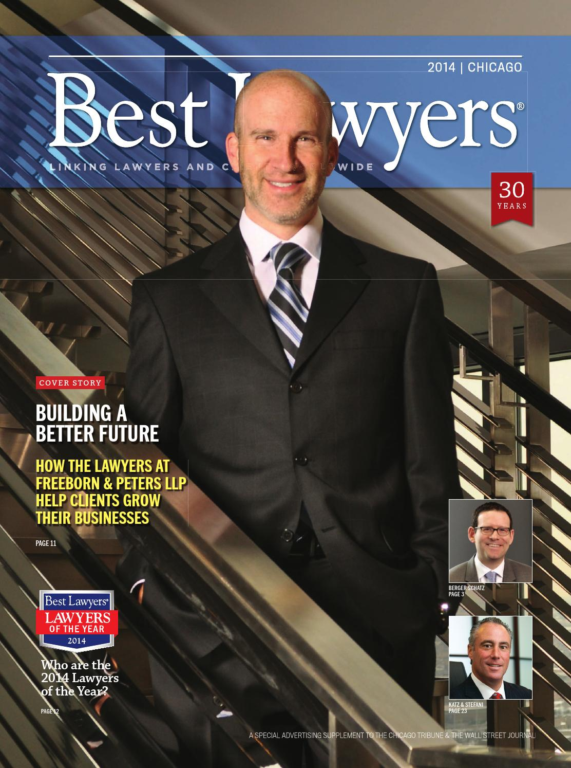 Best Lawyers In Chicago 2014 By Best Lawyers Issuu