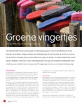 Groene vingertjes, natuurbeleving in de kinderopvang