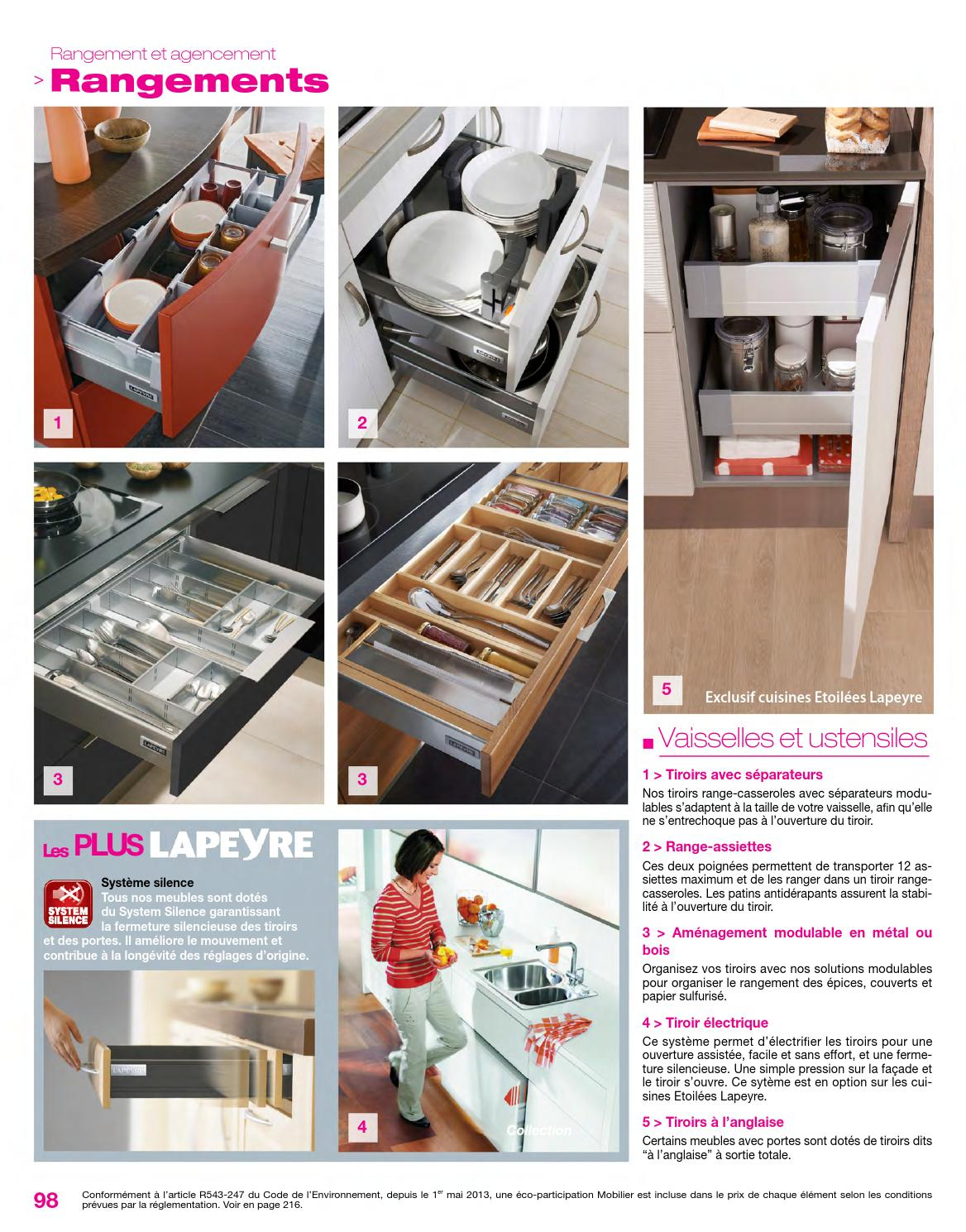 Catalogue lapeyre cuisine maison design for Catalogue lapeyre cuisine