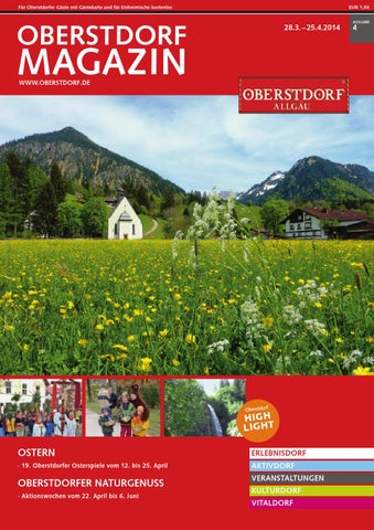 Oberstdorf Magazin 4/2014