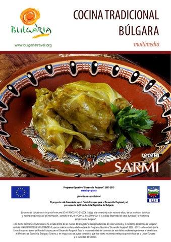 Cocina Tradicional Bulgara