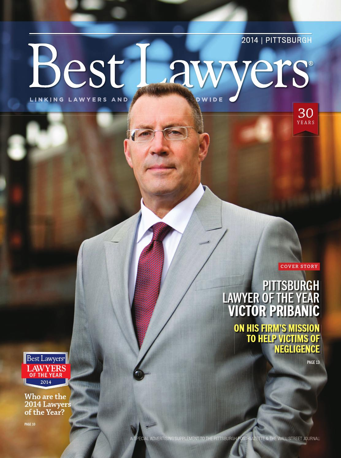 Best Lawyers in Pittsburgh 2014 by Best Lawyers - issuu
