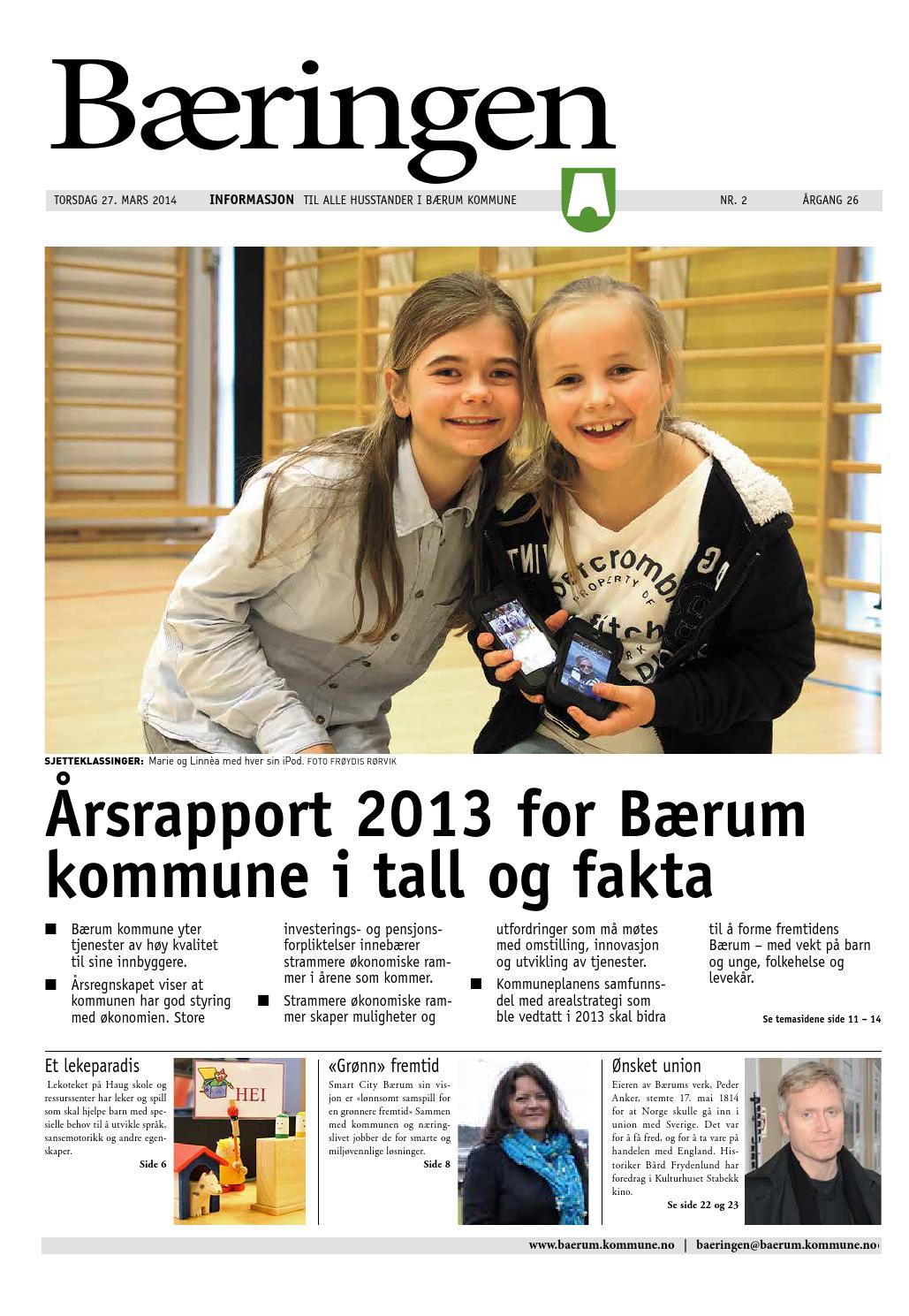 Utnyttelsesgrad bærum kommune