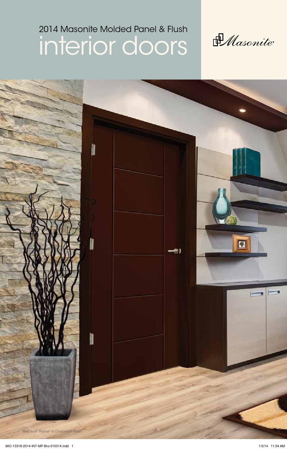 2014 Masonite Interior Door Catalog By Meek Lumber Company