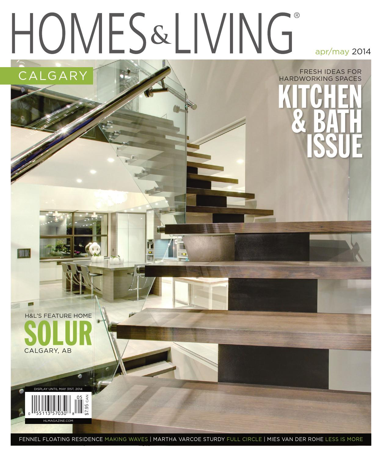 Homes living magazine calgary april may 2014 teaser by for Home builders magazine