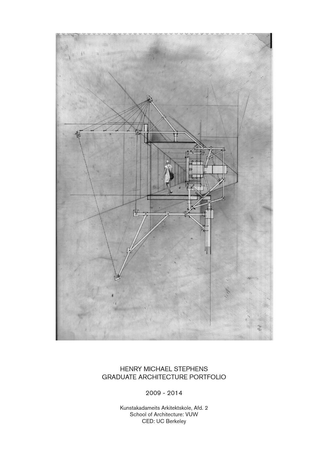 Henry Stephens Graduate Architecture Portfolio By