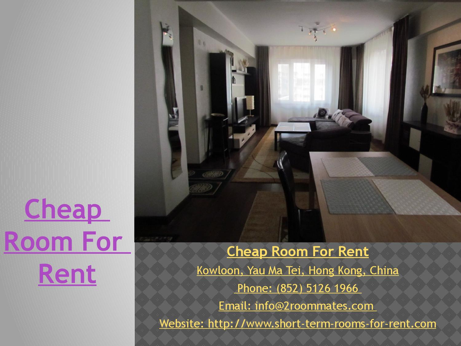 Cheap Room For Rent 2 By Cheap Room For Rent Issuu