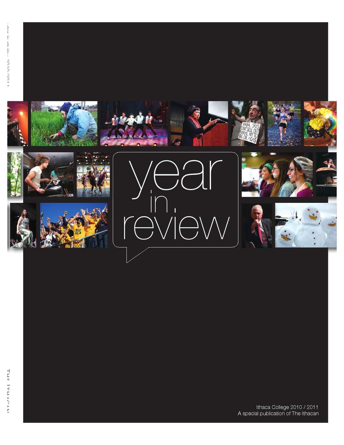 year in review 2010 11 by the ithacan issuu