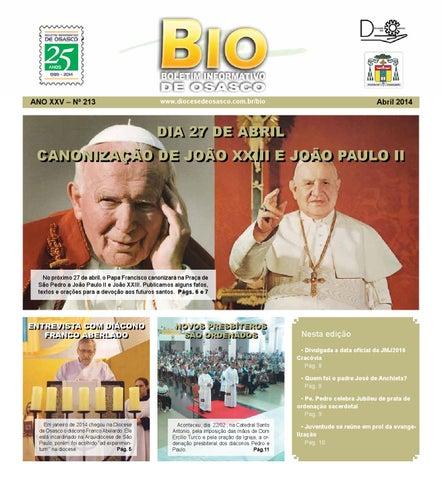 [Bio Diocesano Abril 2014]