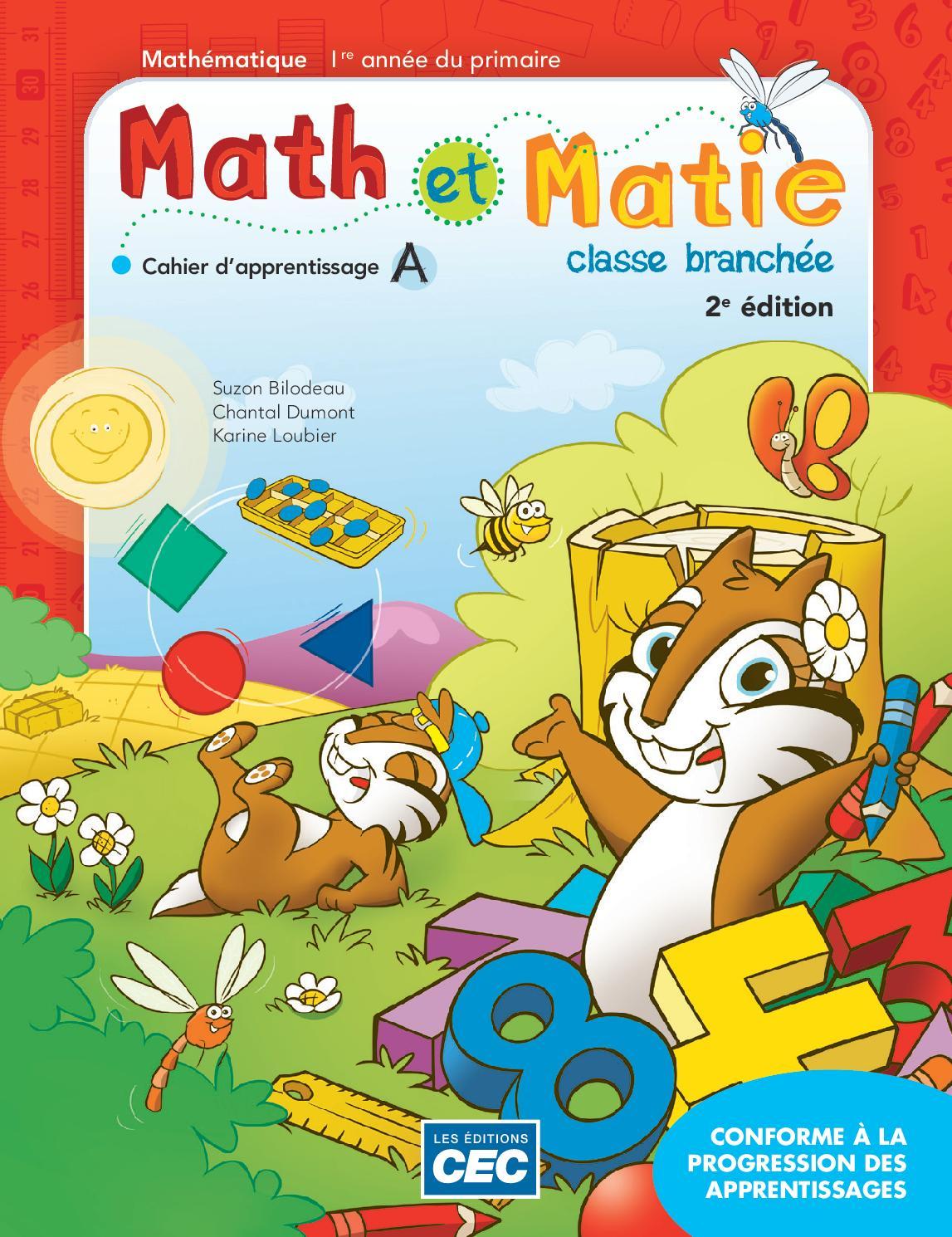 Math et Matie 1re by Les Éditions CEC issuu
