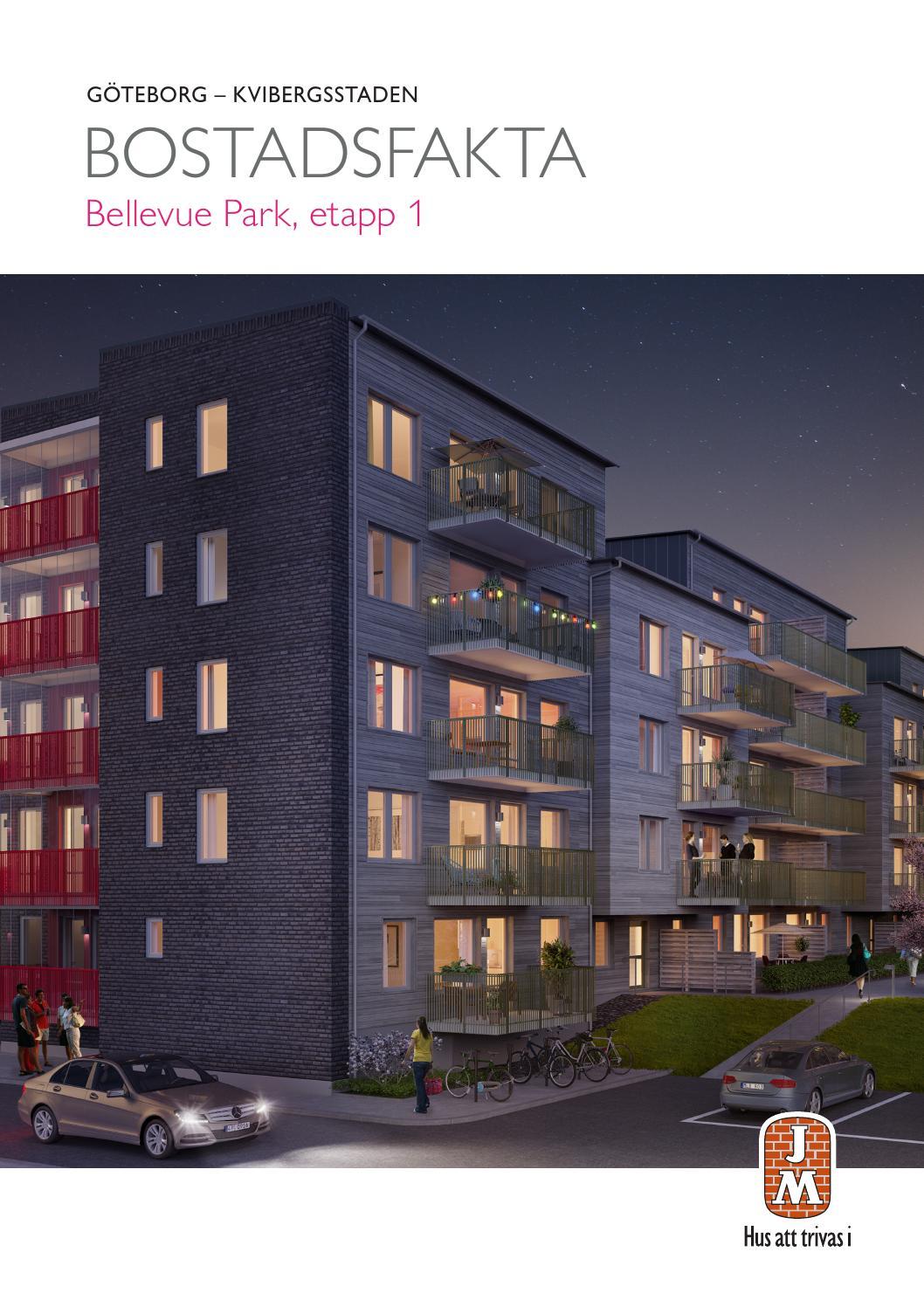 Jm, göteborg: kvibergsstaden   bellevue park etapp 1, bostadsfakta ...