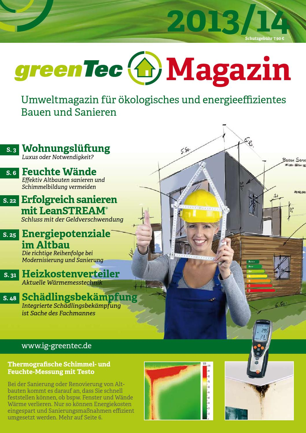 greentec magazin 2013 14 by wzo verlags gmbh issuu. Black Bedroom Furniture Sets. Home Design Ideas