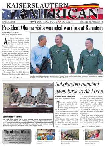 Kaiserslautern American, April 4, 2014