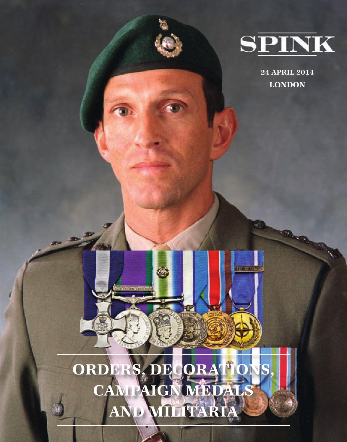 order medal decoration Orders, Decorations, Campaign Medals and Militaria by Spink and Son - issuu