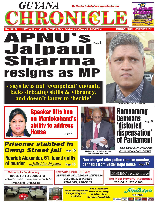 Guyana chronicle 04 04...