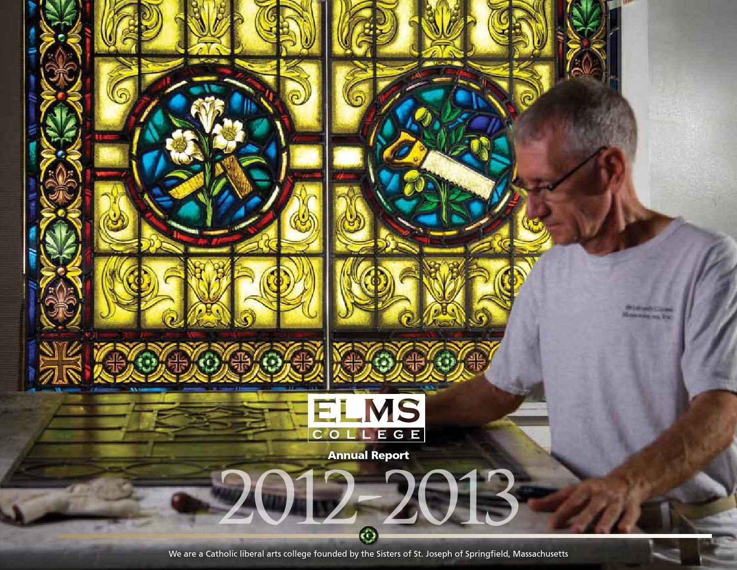 annual report 2012 2013 by elms college issuu