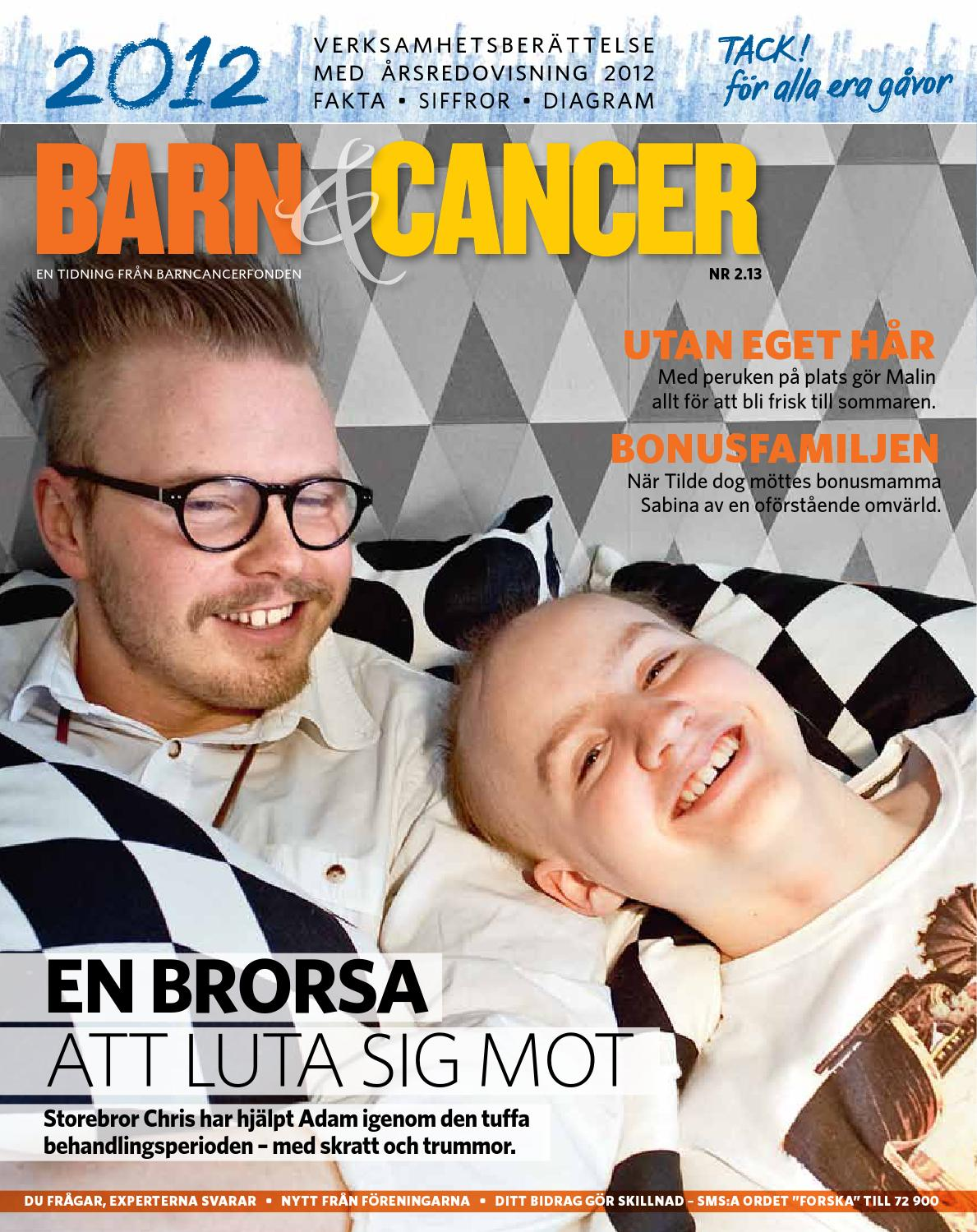Barn&cancer 2016 nr 2 by barncancerfonden   issuu