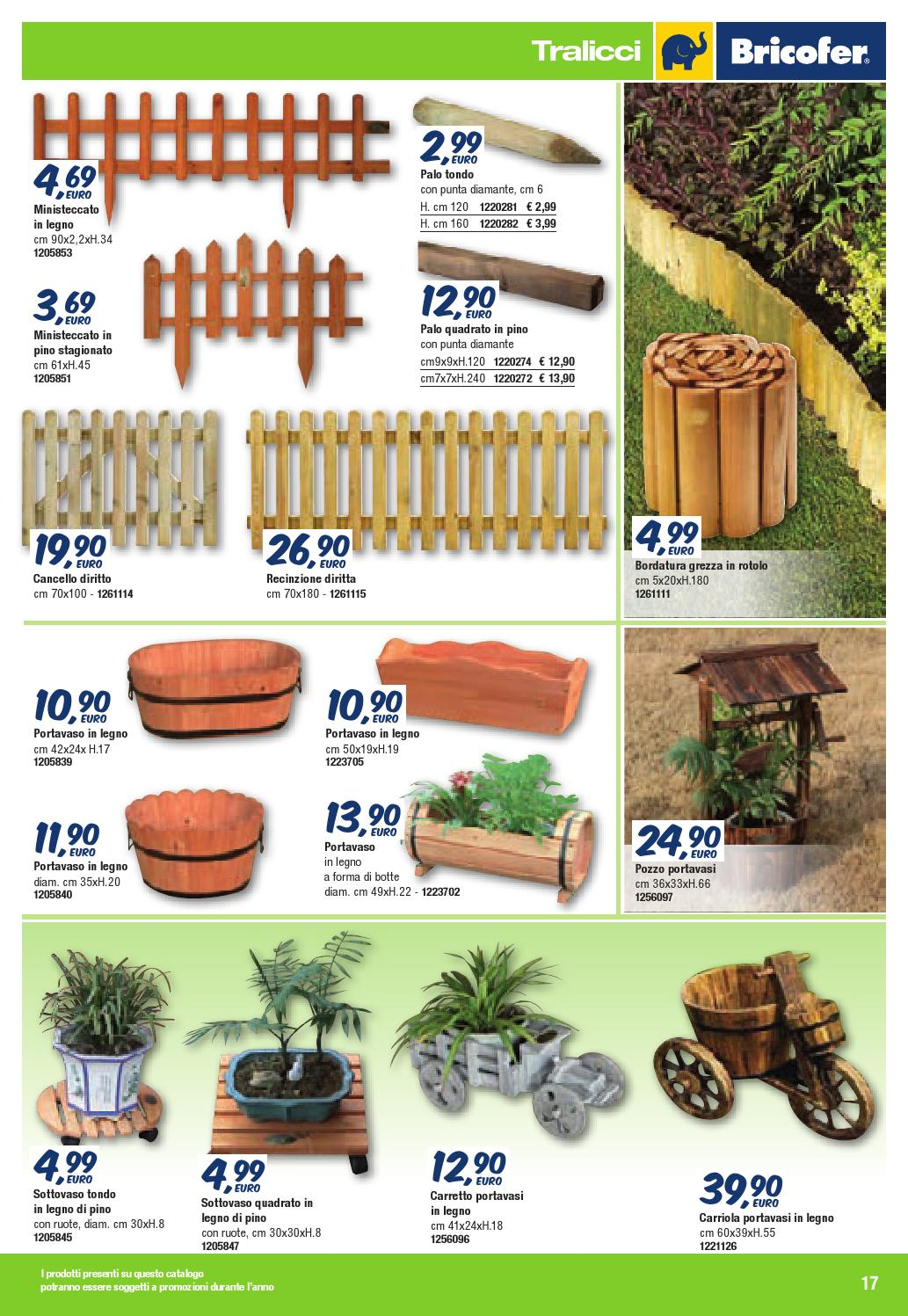 Catalogo giardino 2014 web by bricofer italia spa page 17 for Catalogo bricofer