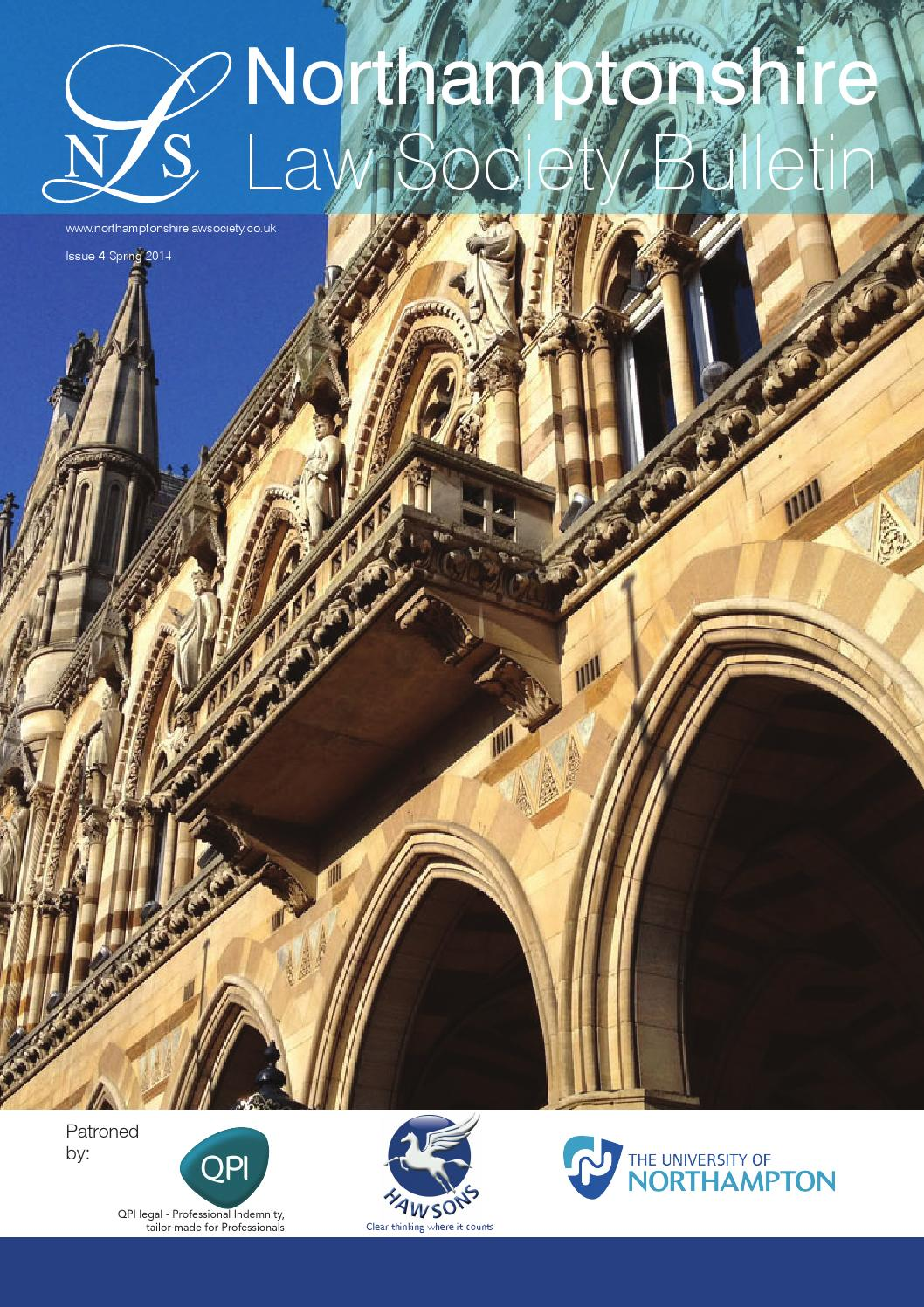 Northamptonshire Law Society Bulletin by EPC Studio - issuu