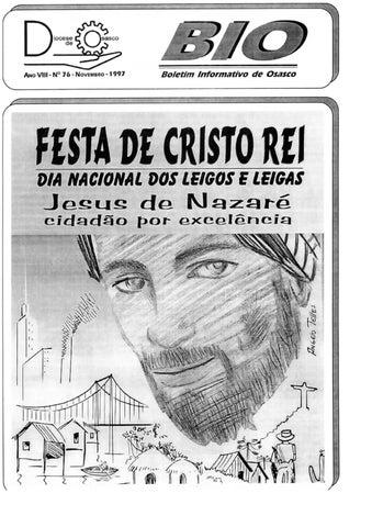 [Bio Diocesano Novembro 1997]