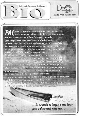 [Bio Diocesano Agosto 1998]