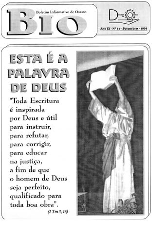 [Bio Diocesano Setembro 1998]