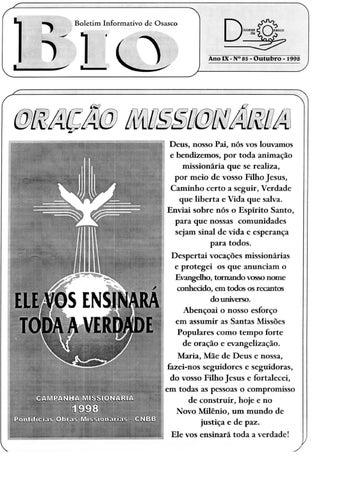 [Bio Diocesano Outubro 1998]