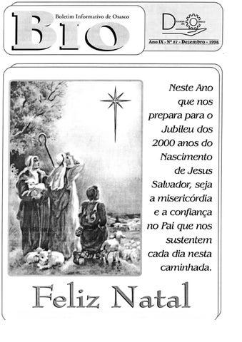 [Bio Diocesano Dezembro 1998]