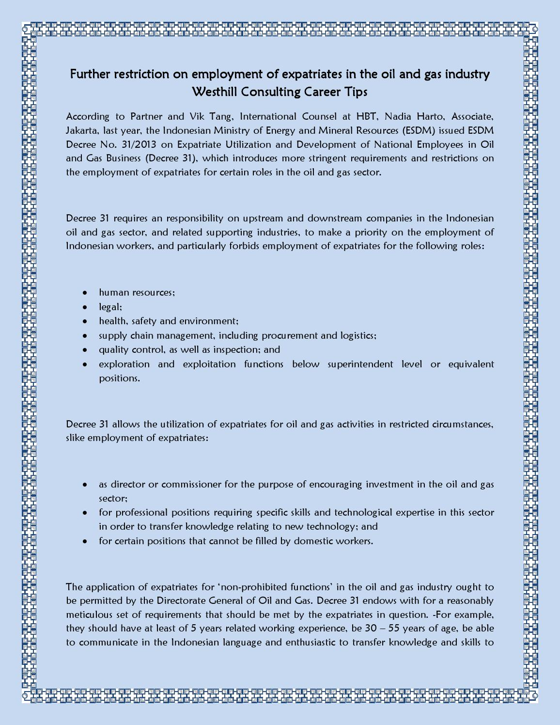 westhill consulting career and employment tips Top 20 questions resume writing tips to succeed in  lloyd thomas westhill westhill consulting & employment australia releases the following advice on.