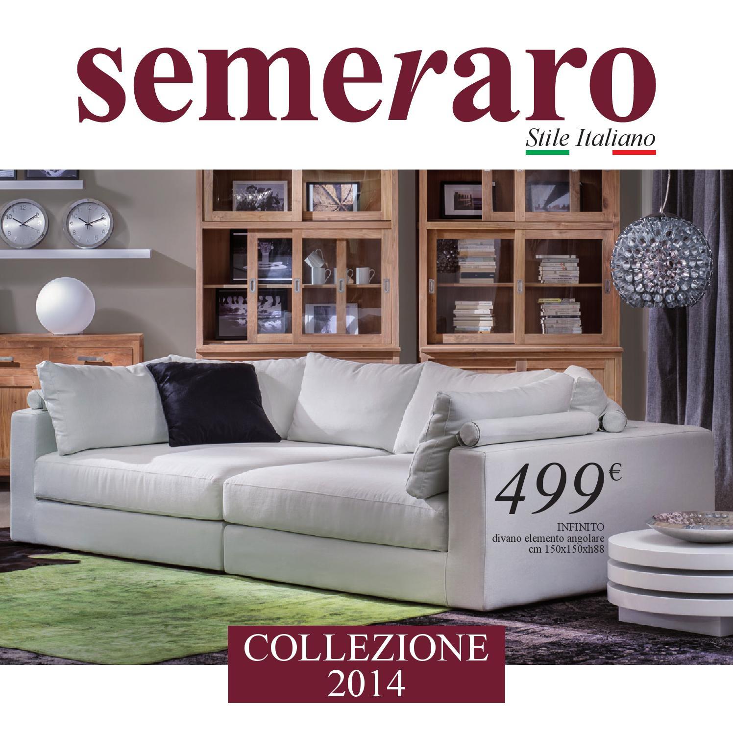 Catalogo semeraro 04 2014 by ovvio issuu - Divano letto ovvio ...