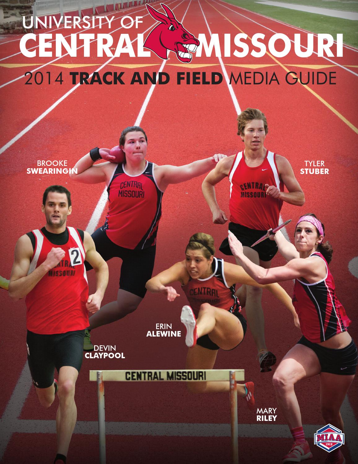 ISSUU - 2014 Central Missouri Track & Field Media Guide by ...