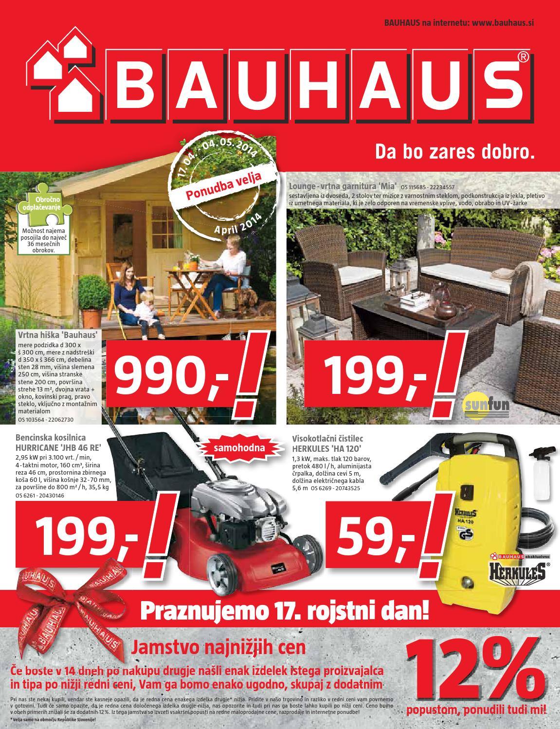 bauhaus katalog 2 april 2014 by issuu. Black Bedroom Furniture Sets. Home Design Ideas
