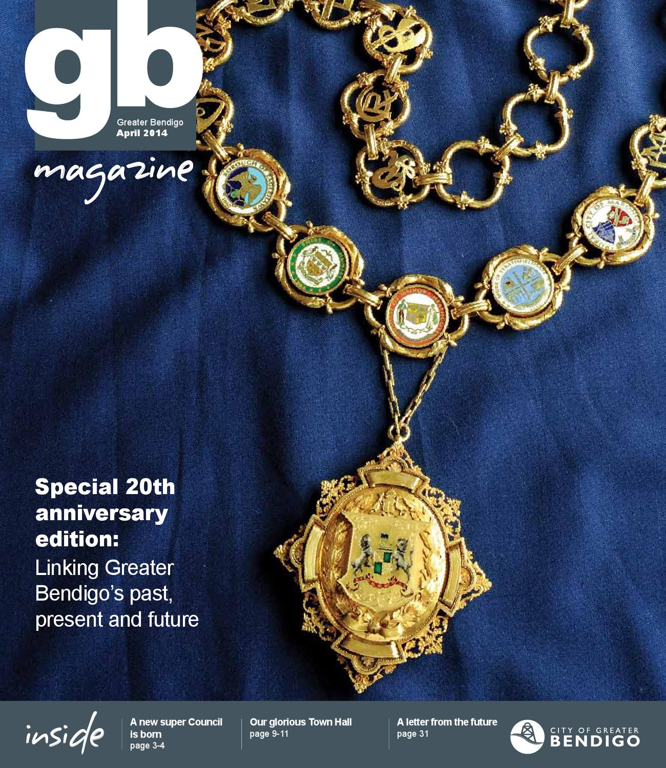 Gb magazine april 2014 by city of greater bendigo   issuu