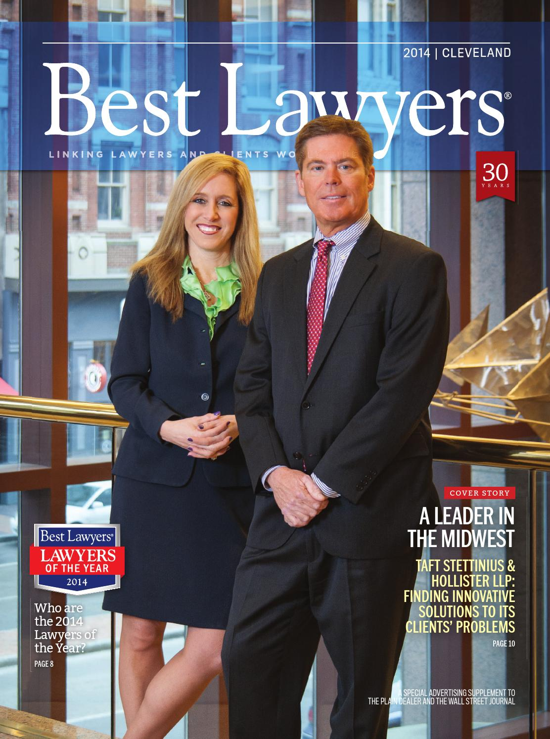 Best Lawyers In Cleveland 2014 By Best Lawyers Issuu