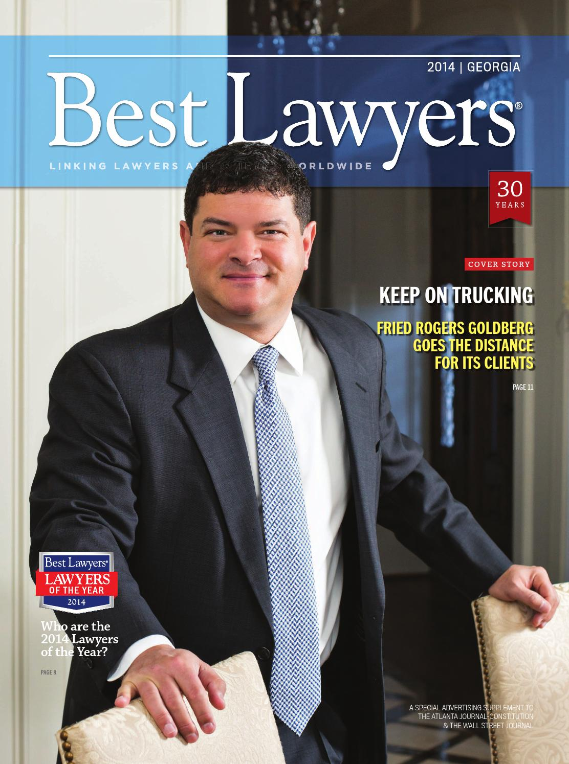 Best Lawyers In Georgia 2014 By Best Lawyers Issuu