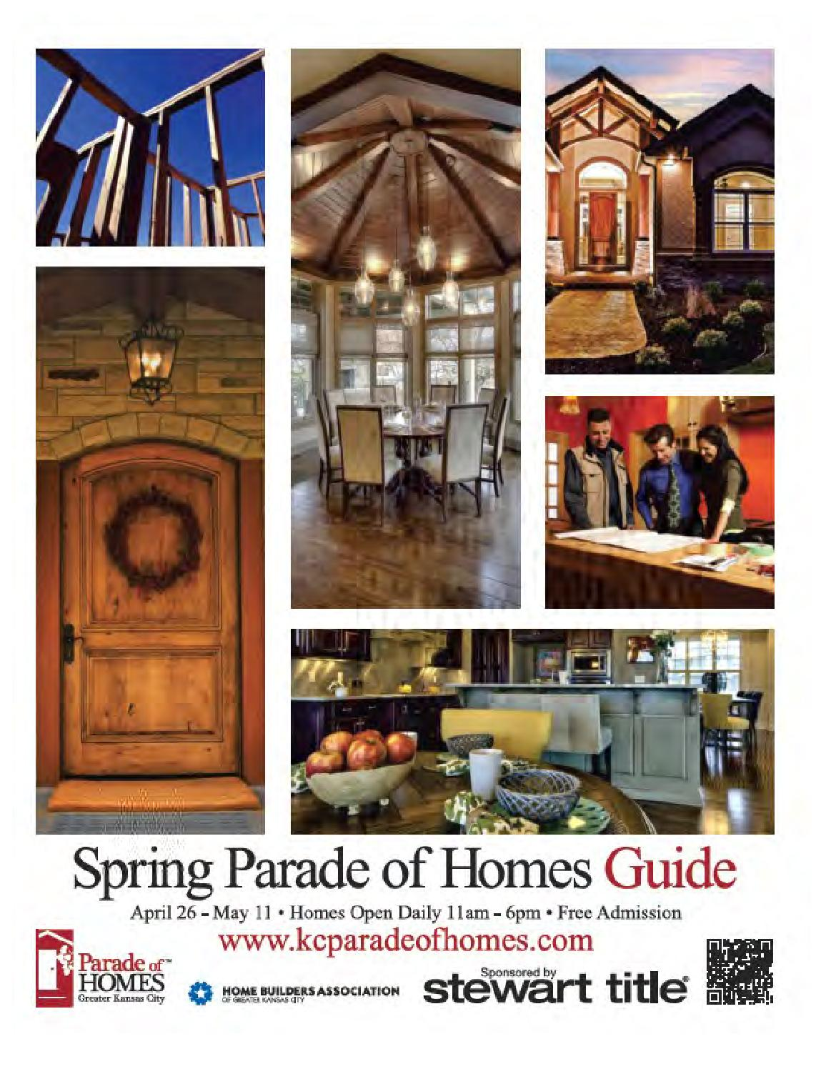 Kansas city spring parade of homes guide by home builders for Home builders guide