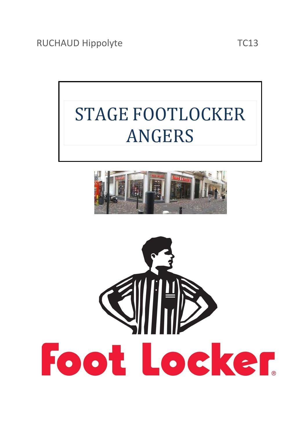 r sum de stage foot locker by hruchaud issuu. Black Bedroom Furniture Sets. Home Design Ideas