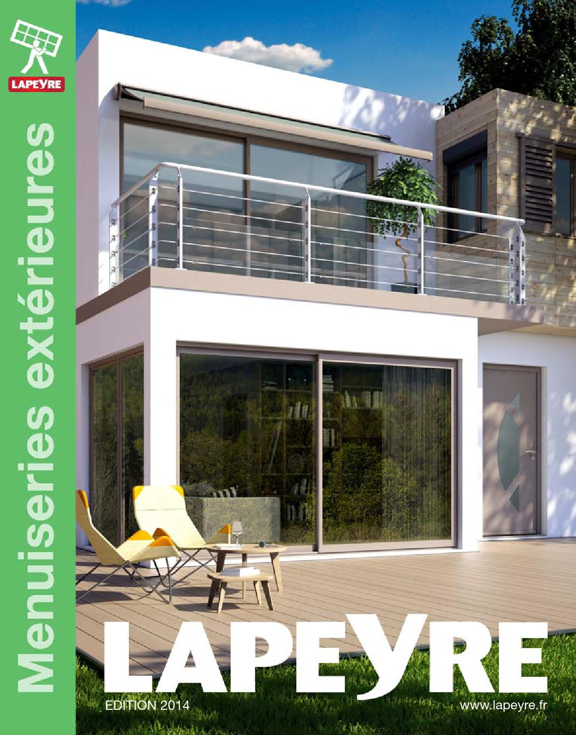 catalogue lapeyre menuiseries ext rieurs 2014 by joe monroe issuu. Black Bedroom Furniture Sets. Home Design Ideas