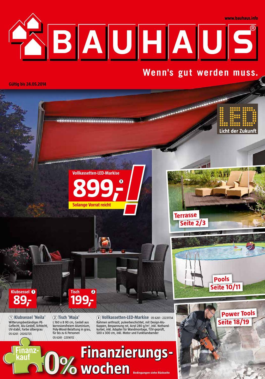 Bauhaus angebote 28april 24mai2014 by for Pool angebote bauhaus