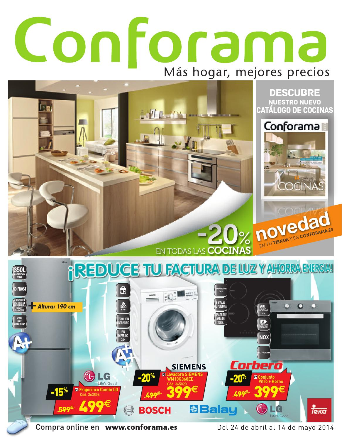 Conforama catalogo 24abril 14mayo2014 by - Conforama sevilla catalogo ...