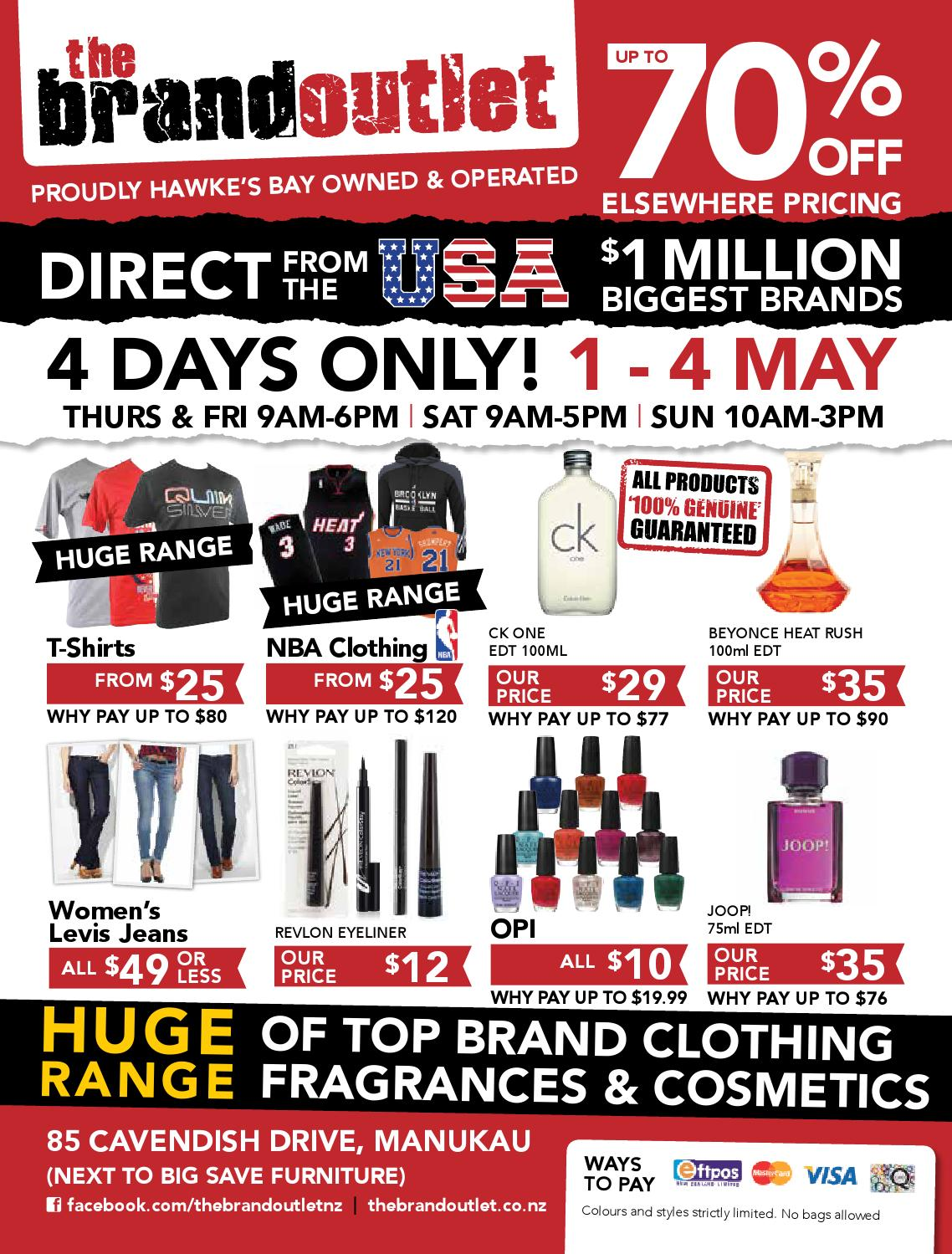 The brand outlet manukau mailer by thebrandoulet issuu for C furniture warehouse manukau