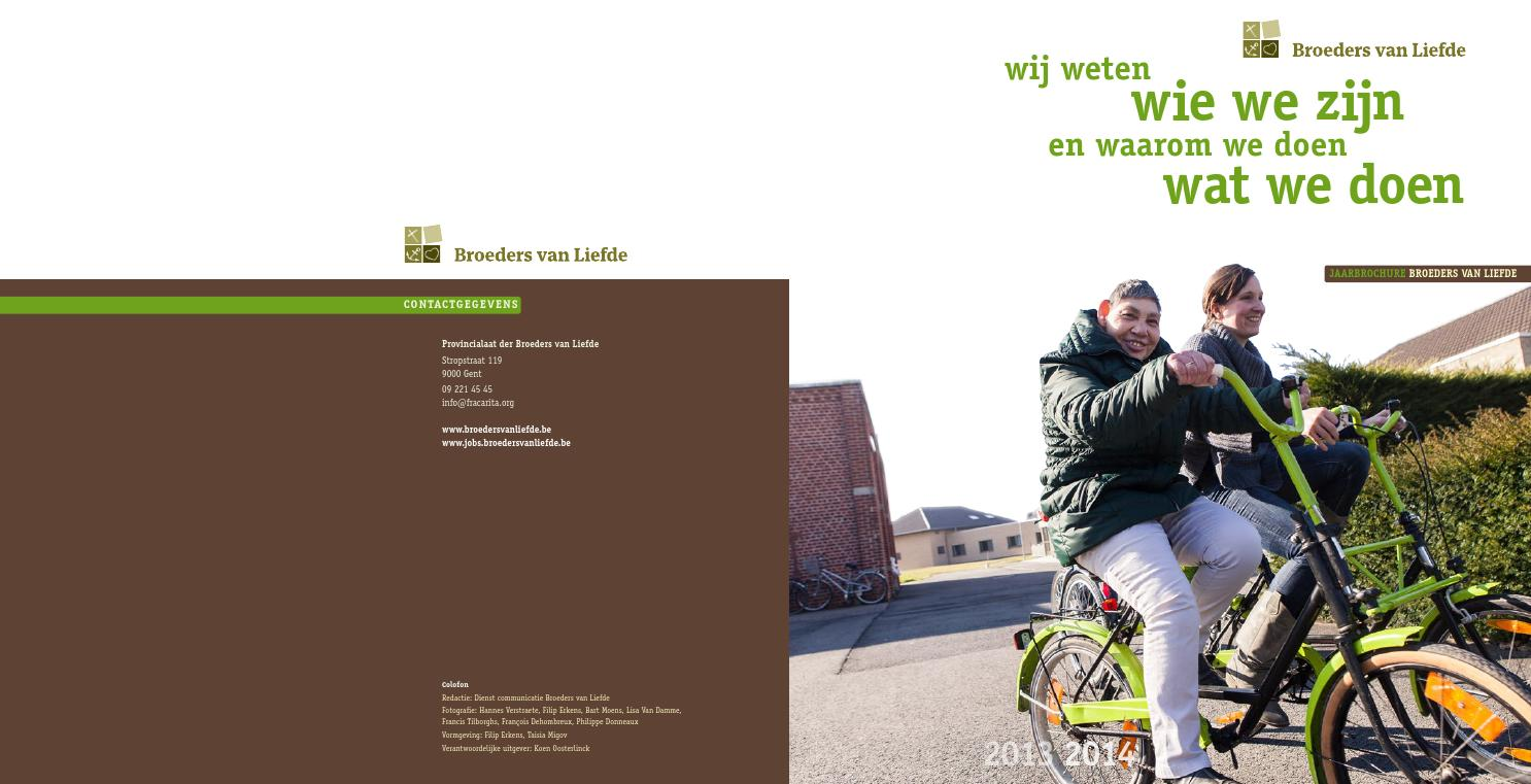 Jaarbrochure Broeders van Liefde by Broeders van Liefde - issuu