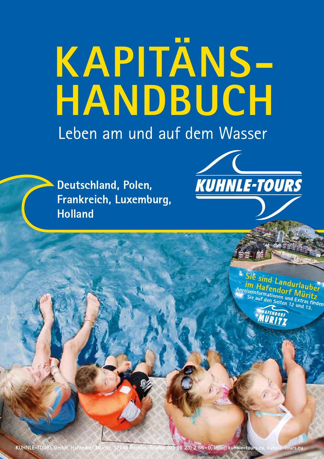 kapitaenshandbuch leben auf dem wasser by kuhnle tours issuu. Black Bedroom Furniture Sets. Home Design Ideas
